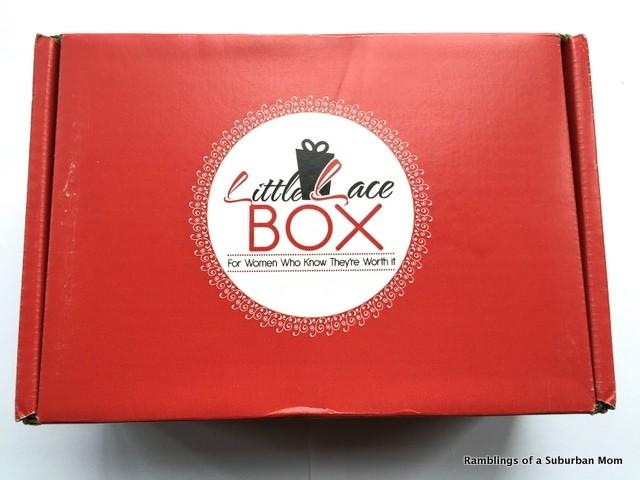 October 2014 Little Lace Box