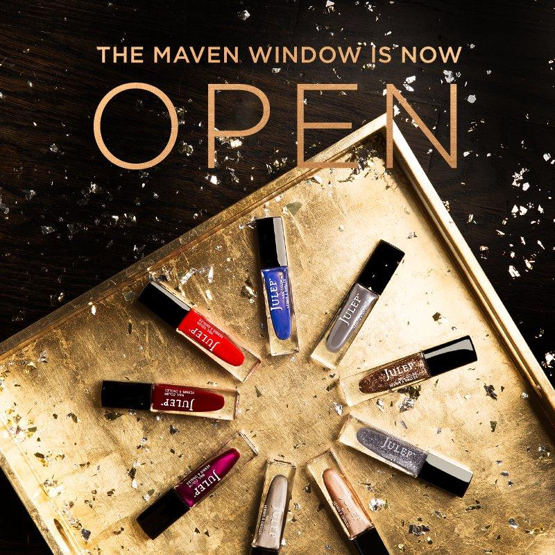 December Julep Maven Selection Window