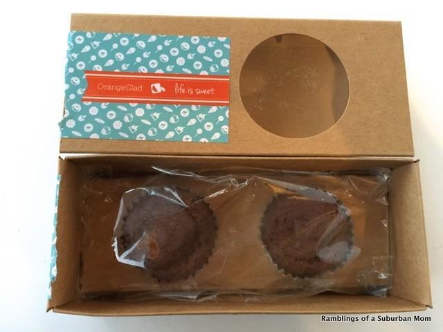 November 2014 Orange Glad Sweet Box