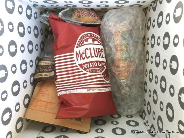 November 2014 Fancy Food Box