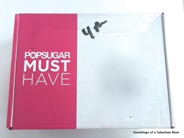 November 2014 PopSugar Must Have Box