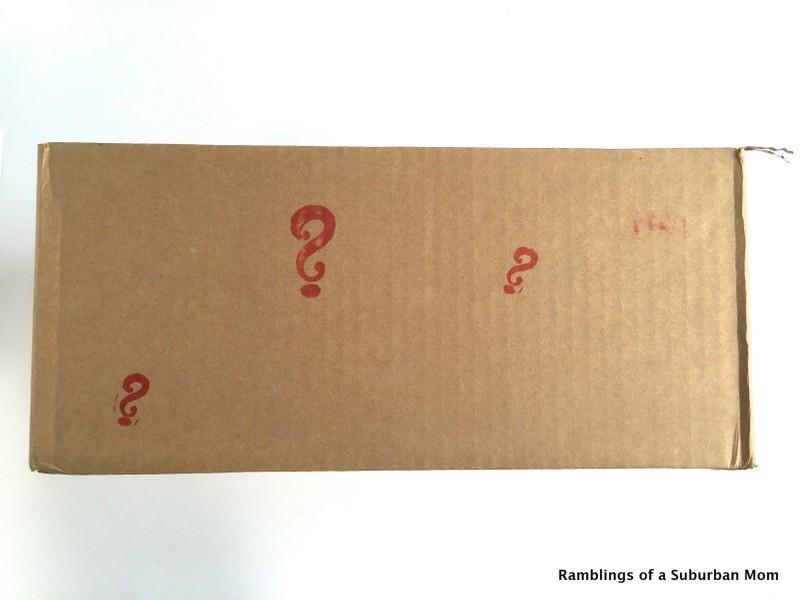 November 2014 American Mystery Box