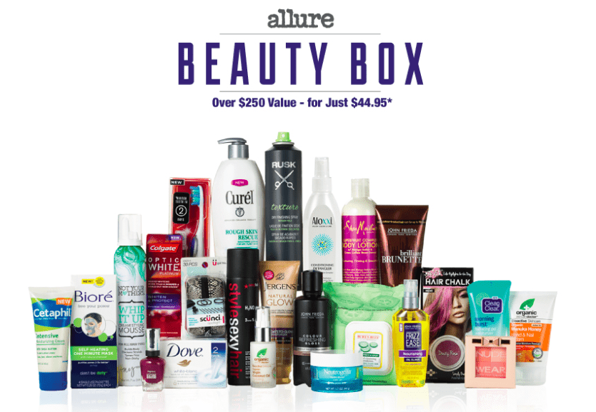 Allure Winter 2014 Beauty Box