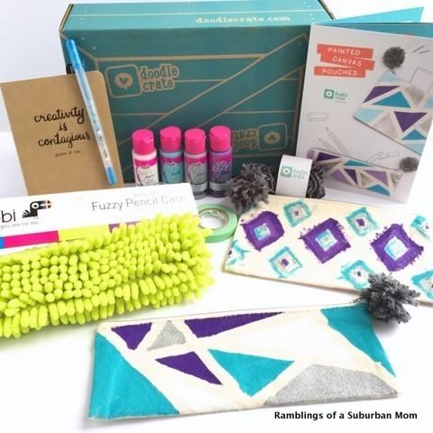 Doodle Crate Review + Coupon Code – December 2014