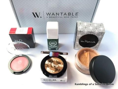 January 2015 Wantable Makeup
