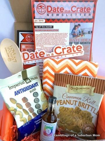 January 2015 Date in a Crate Review - Subscription Box Ramblings