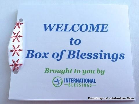 January 2015 Box of Blessings