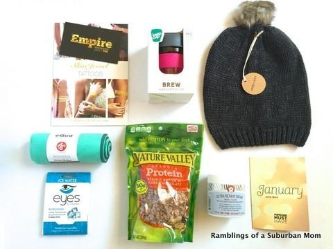 January 2015 PopSugar Must Have Box Review