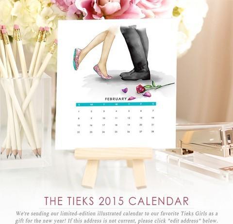 Tieks Calendar