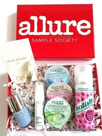 February 2015 Allure Sample Society Review + Coupon Code ...