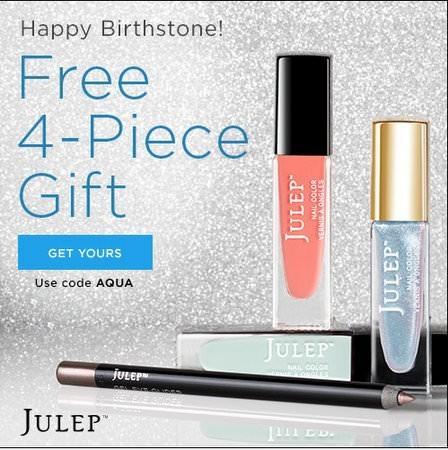 Julep Birthday Code
