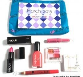 Lip Monthly March 2015 Subscription Box Review + Coupon Code