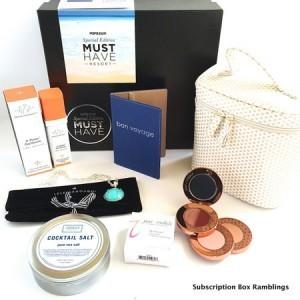 PopSugar Must Have 2015 Limited Edition Resort Box Review