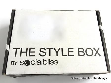 Socialbliss March 2015 Subscription Box Review