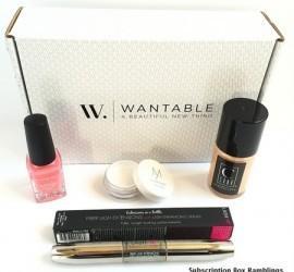 Wantable Makeup April 2015 Subscription Box Review