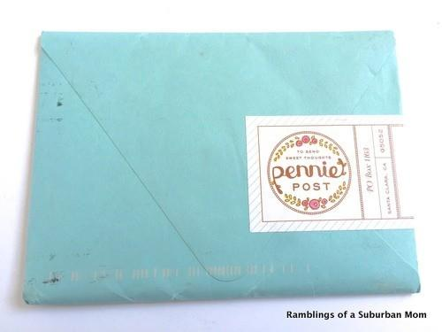 Pennie Post March 2015 Subscription Review