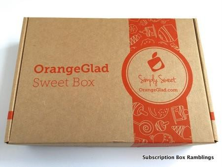 Orange Glad April 2015 Subscription Box Review + Coupon Code