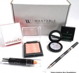 Wantable Makeup May 2015 Subscription Box Review