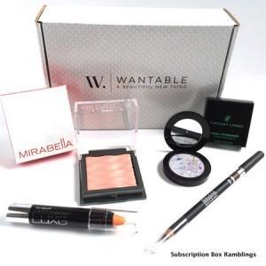 Wantable Makeup Review – May 2015