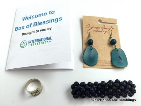 International Box of Blessings May 2015 Review