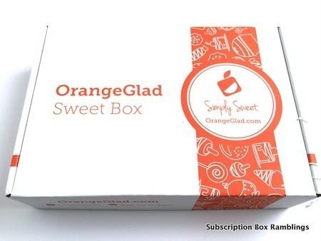 Orange Glad May 2015 Subscription Box Review