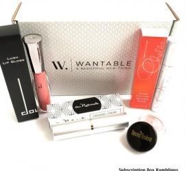 Wantable Makeup June 2015 Subscription Box Review