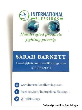 International Box of Blessings June 2015 Review + Coupon Code