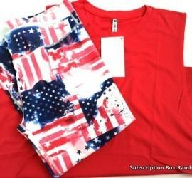 Fabletics June (Patriotic) 2015 Subscription Box Review + 50% off First Outfit