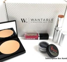 Wantable Makeup July 2015 Subscription Box Review