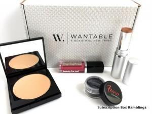 Wantable Makeup Review – July 2015