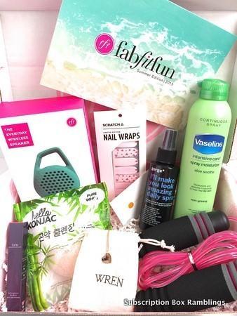 FabFitFun Review + Coupon Code – Summer 2015