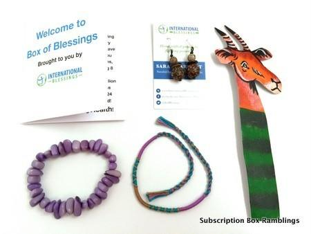 International Box of Blessings July 2015 Review + Coupon Code