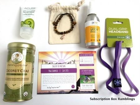 Yogi Surprise July 2015 Subscription Review + Coupon Code