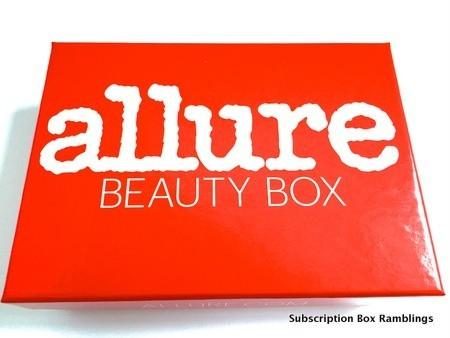 Allure Beauty Box July 2015 Subscription Box Review