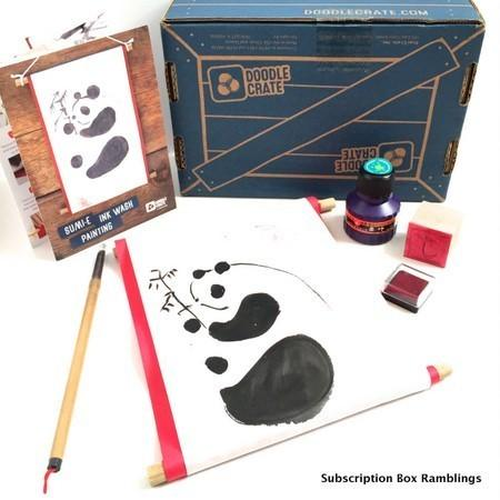 Doodle Crate Review + Coupon Code – July 2015