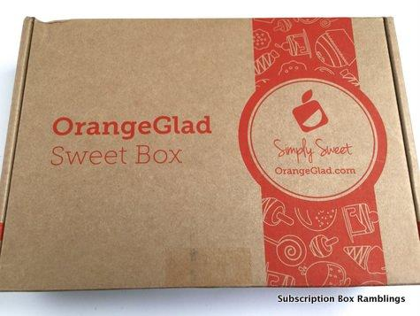 Orange Glad August 2015 Subscription Box Review + Coupon Code