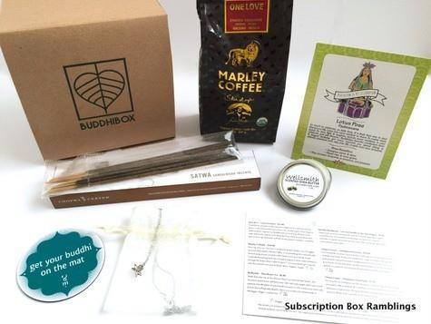 BuddhiBox August 2015 Subscription Box Review