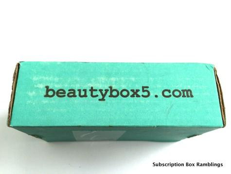 Beauty Box 5 August 2015 Subscription Box Review