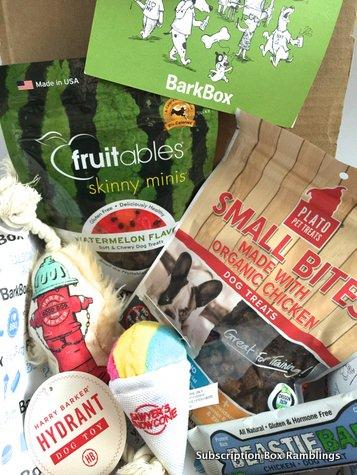 BarkBox Review + Coupon Code –  August 2015