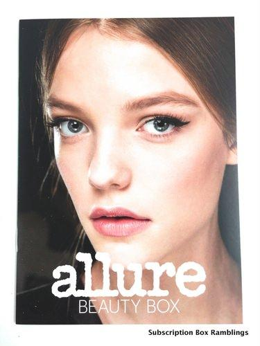 Allure Beauty Box September 2015 Subscription Box Review