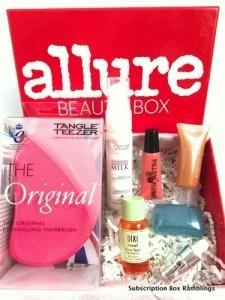 Allure Beauty Box Review – September 2015