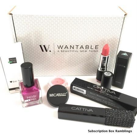 Wantable Makeup August 2015 Subscription Box Review