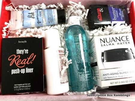 Allure Beauty Box August 2015 Subscription Box Review