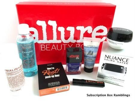 Allure Beauty Box Review – August 2015