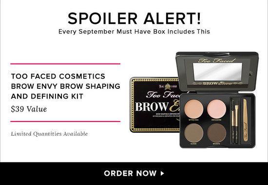 POPSUGAR Must Have Box September **Spoiler**