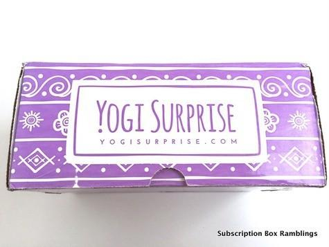 Yogi Surprise September 2015 Subscription Review + Coupon Code