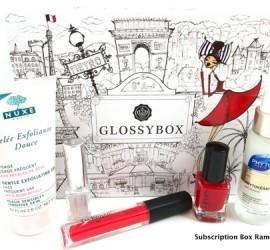 GLOSSYBOX October 2015 Subscription Box Review + Coupon Code