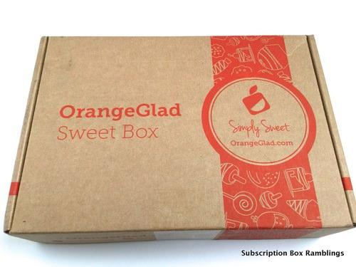 Orange Glad September 2015 Subscription Box Review + Coupon Code