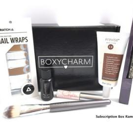 """BOXYCHARM September 2015 Subscription Box Review - """"Runway Ready"""""""