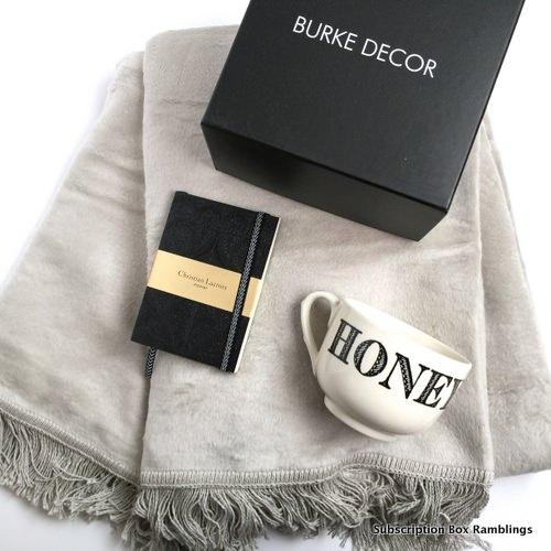 Burke decor whole home burke box august 2015 subscription - Home decor subscription box ...